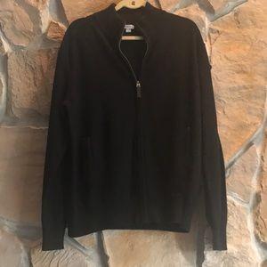 Full Zip up Black cardigan